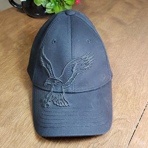 American Eagle AEO Nu-Fit Black Hat NWOT